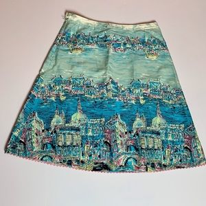 RARE Anthropologie Elevenses Venice Skirt